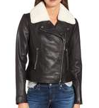 Michael Michael Kors, Genuine Shearling Moto Jacket $418