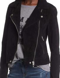 BLANKNYC, Suede Moto Jacket $188