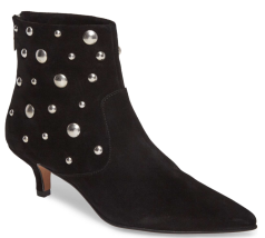 Topshop, Ascot Studded Pointy Toe Bootie $135