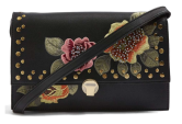 Topshop, Robyn Floral Faux Leather Crossbody Bag $68