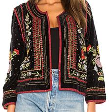 Velvet by Graham & Spencer, Adara Velvet Jacket $268*