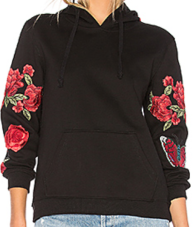 Central Park West, Abbot Kinney Rose Hoodie $152